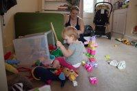 spielen mit Kind